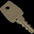 Eurolocks sleutel K10B serie K6