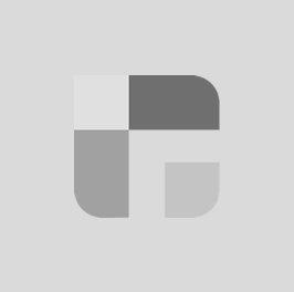 Steekwagen blauw met ergonomische greep