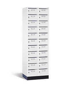 Postvakkenkast met 22 vlakke deuren S4000 Intro