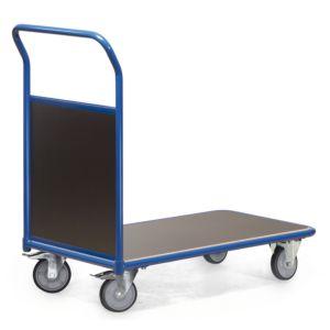 Magazijnwagen met 1 kopwand van hout Serie F 300