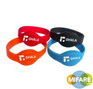 Siliconen RFID polsband MIFARE Classic® EV1 – 1K